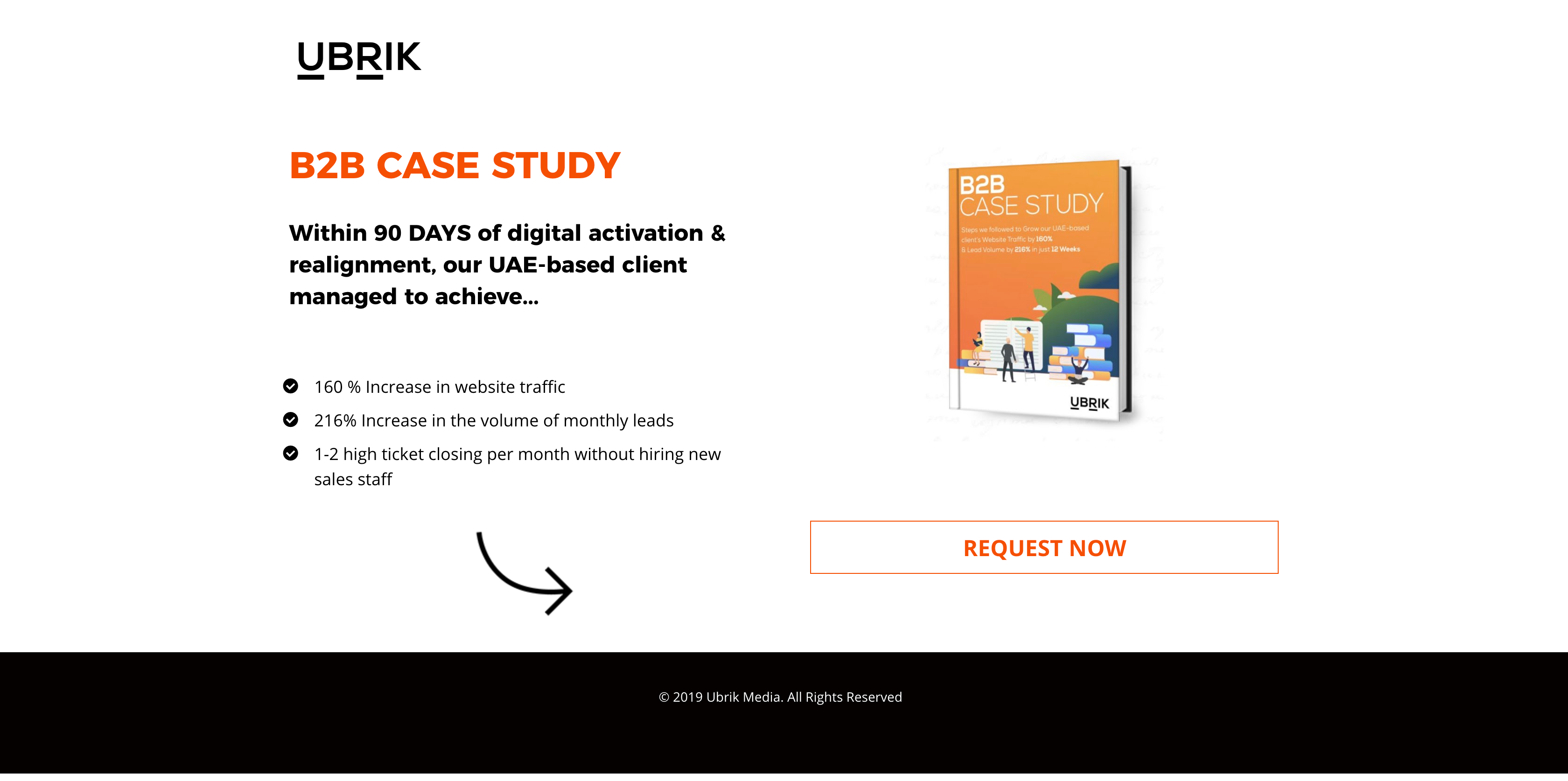UAE B2B Lead Generation Landing Pages by UBRIK - 4